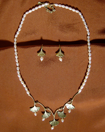 GINKGO BRONZE JEWELRY