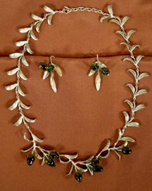 SPANISH OLIVE BRONZE JEWELRY