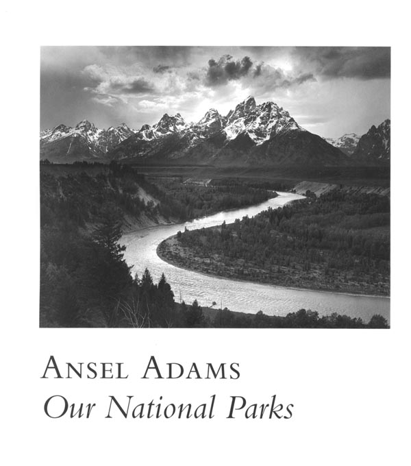 ANSEL ADAMS: OUR NATIONAL PARKS COVER