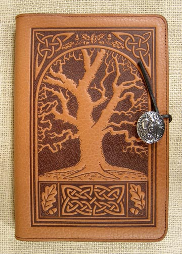OAK TREE CELTIC JOURNAL SADDLE BROWN