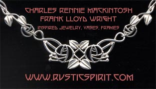 CHARLES RENNIE MACKINTOSH JEWELRY AD