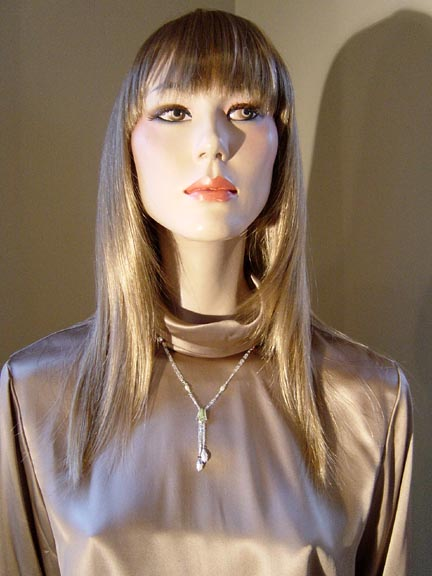 OVERBECK NECKLACE WITH SILK