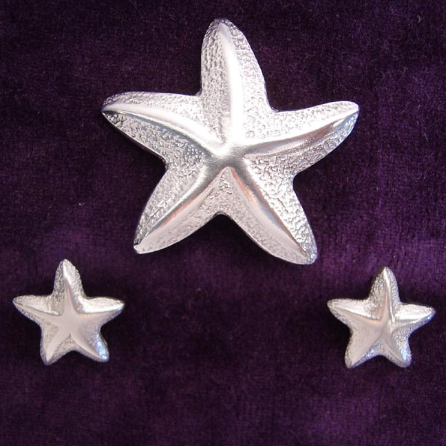 STARFISH PEWTER JEWELRY