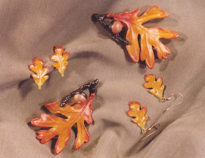 OAK LEAF AND ACORN JEWELRY