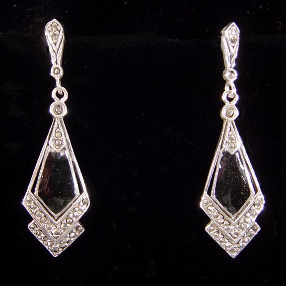 MARCASITE STERLING SILVER JEWELRY