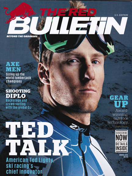 TED LIGETY RED BULLETIN COVER