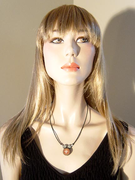 WILDMAN NECKLACE WITH BLACK TANK TOP