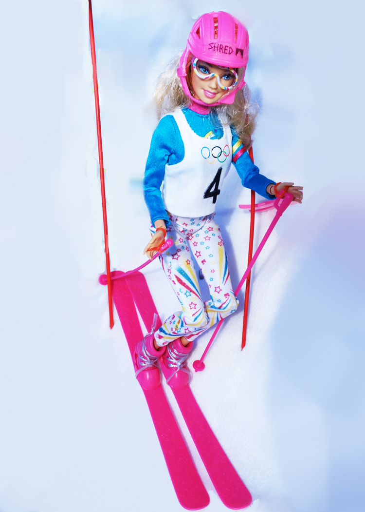 BARBIE SKIS