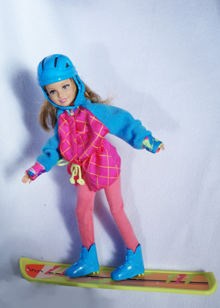 BARBIE SNOWBOARDS