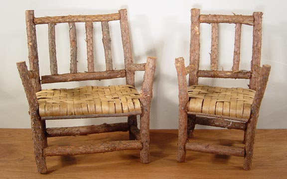 STRAIGHT TWIG CHAIR & BENCH