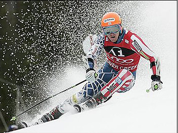 TED WINS GS BEAVER CREEK 2010