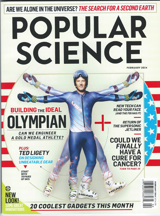 TED LIGETY POPULAR SCIENCE COVER