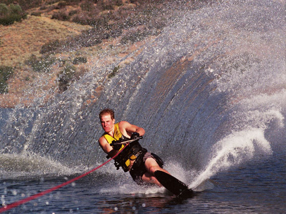 TED LIGETY WATER SKIING