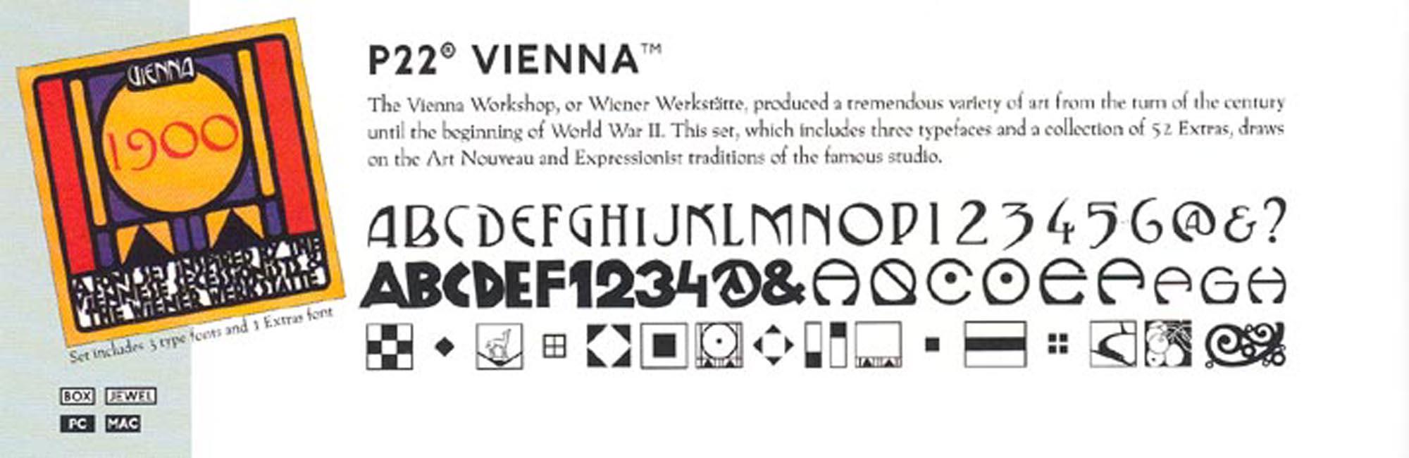 VIENNA 1900 FONT
