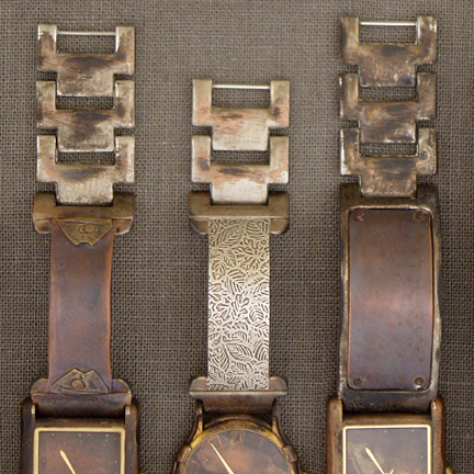 COPPER AND SILVER WATCHES