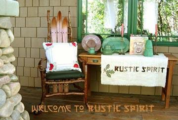 Rustic Spirit Presents Rustic Adirondack Mountain